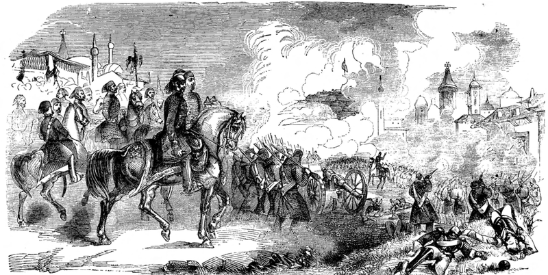 A scene from the Battle of Citate